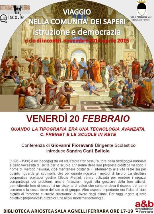 Conferenza Freinet