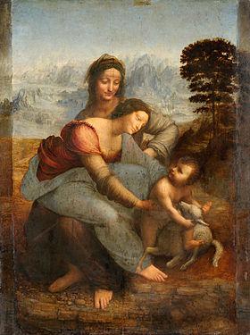 La madonna e sant'anna